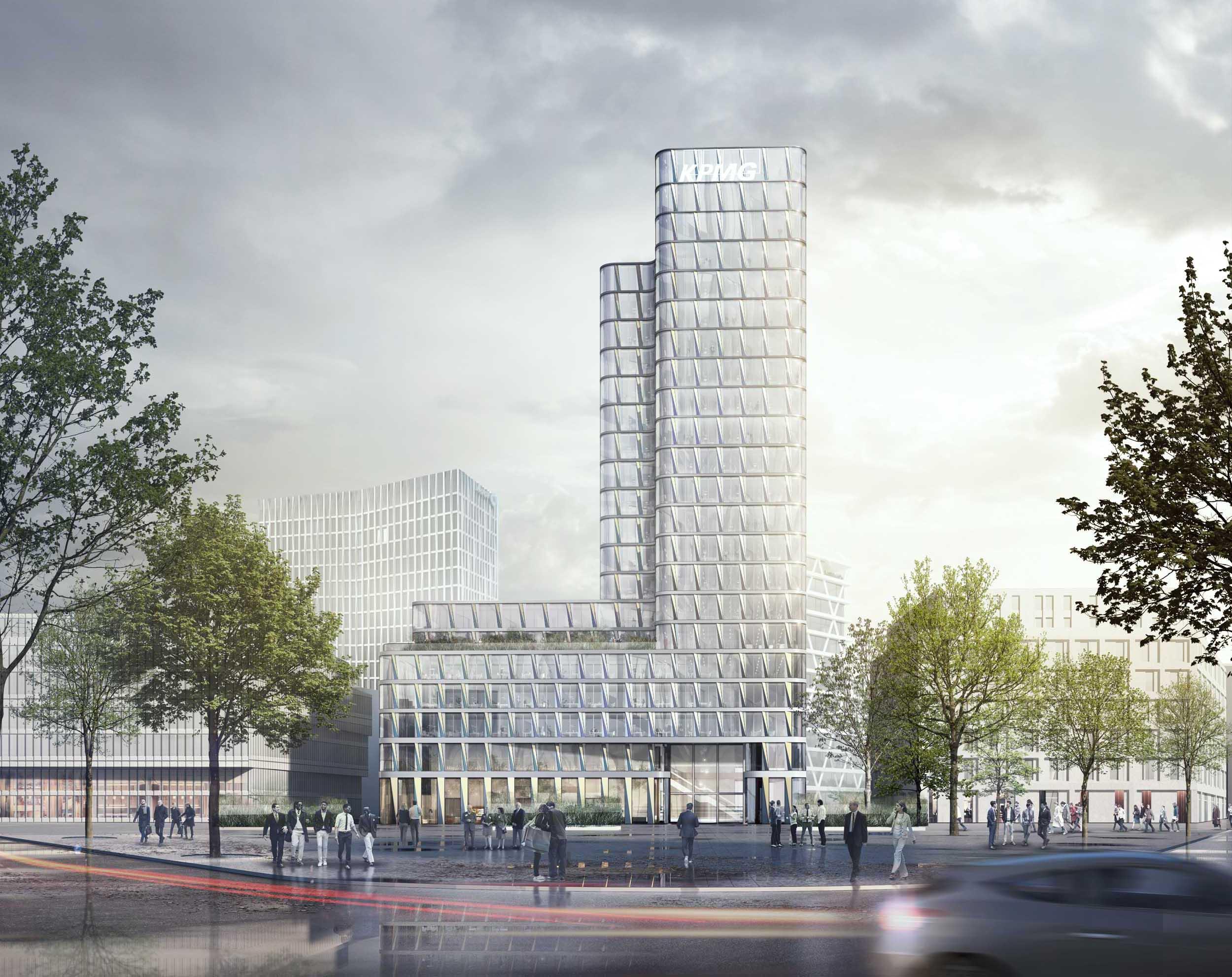 M ller reimann architekten for Europaplatz 4 darmstadt