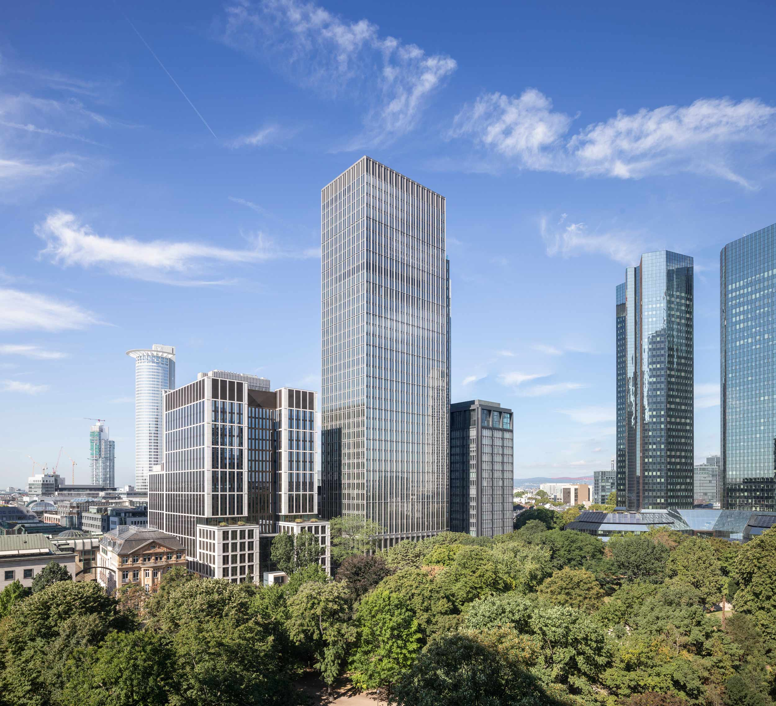 Marieninsel in Frankfurt/Main © Pecan Development GmbH