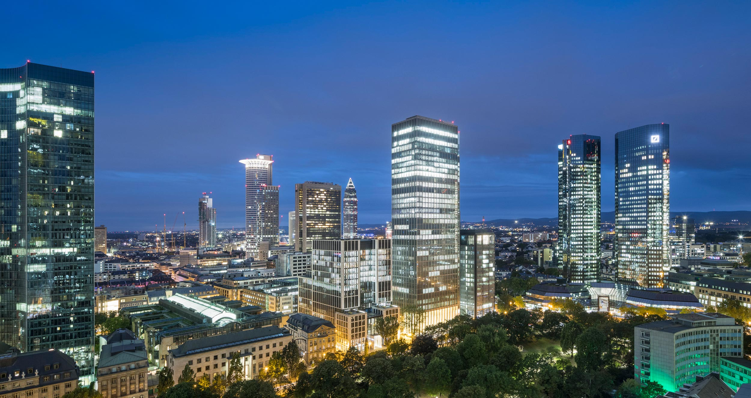 Marienturm in Frankfurt/Main © Pecan Development GmbH